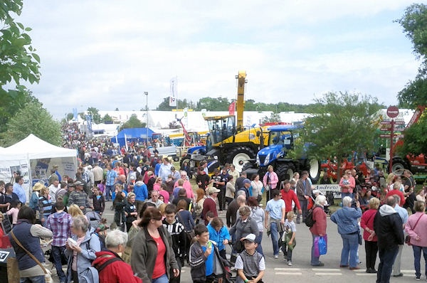 Crowds at the Devon County Show