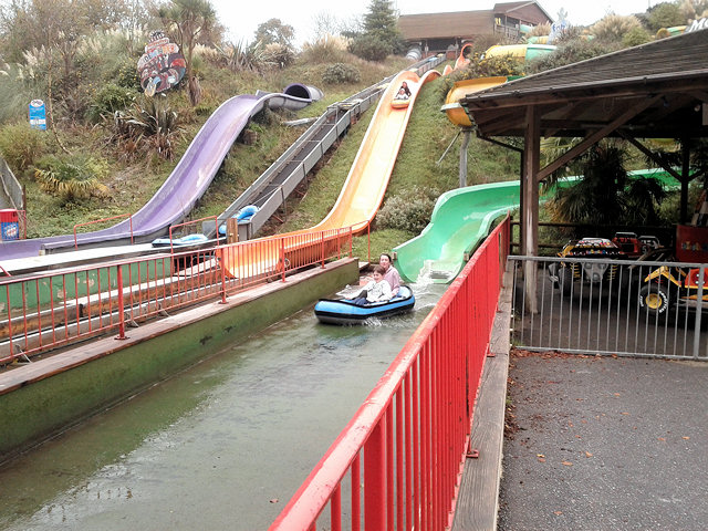 No queues on the waterslides
